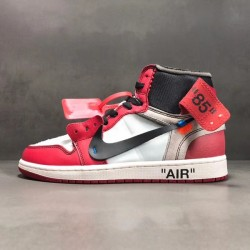 PK Batch Men's Air Jordan 1 x OFF WHITE AA3834 101