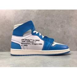PK Batch Men's Air Jordan 1 x OFF WHITE AQ0818 148