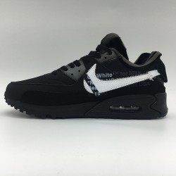 PK God Batch Men's Nike Air Max 90 x OFF WHITE AA7293-001