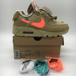 PK God Batch Men's Nike Air Max 90 x OFF WHITE AA7293-200