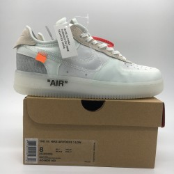 PK God Batch Men's OFF-WHITE x Nike Air Force 1 AO4606-100