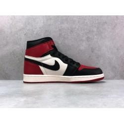 """PK Batch Men's Nike Air Jordan 1"""" Bred Toe"""" 555088 610"""