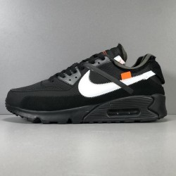 PK Batch Men's Nike Air Max 90 x OFF WHITE AA7293 001