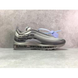 PK Batch Men's OFF WHITE NIKE AIR MAX97 THE TEN AJ4585 101