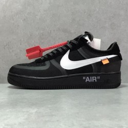 PK Batch Men's OFF WHITE x Nike Air Force 1 AO4606 001