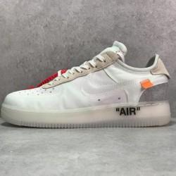 PK Batch Men's OFF WHITE x Nike Air Force 1 LOW VIRGIL AO4606 100