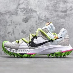 PK Batch Unisex Off White x Nk Zoom Terra Kiger 5 Athlete in Progress CD8179 100