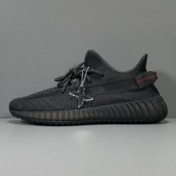 """X Batch Unisex Adidas Yeezy Boost 350 V2 """"BLACK"""" FU9006"""