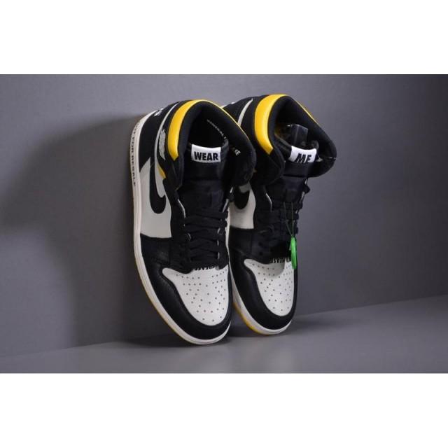 "X Batch Men's Air Jordan 1 Retro High OG NRG ""No L's""  861428 107"
