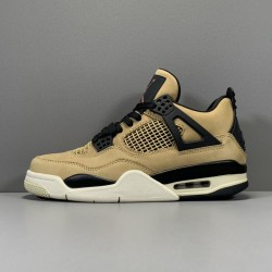 "GOD Batch Men's Air Jordan 4 Retro ""Mushroom"" AQ9129-200"