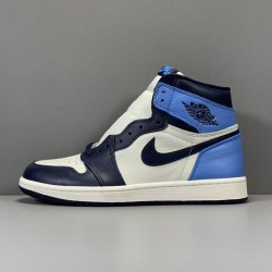 "OG Batch Men's Air Jordan 1 Retro High OG Batch Men's ""Obsidian"" 555088-140"