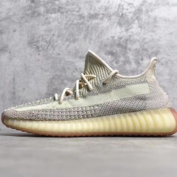 "PK GOD Batch Unisex Yeezy Boost 350 V2 ""Citrin"" Reflective FW5318"